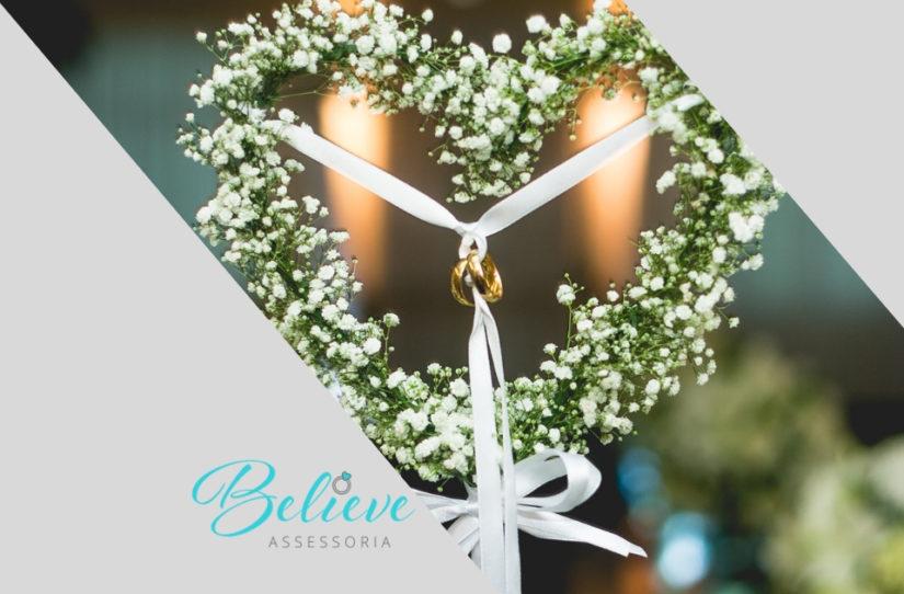 Alianças fakes no dia do casamento